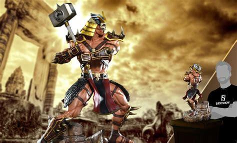 Mortal Kombat Shao Kahn Mk9 Statue By Pop Culture Shock