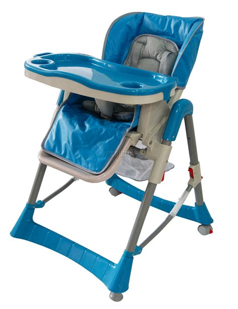 Foldable Baby High Chair Recline Highchair Height