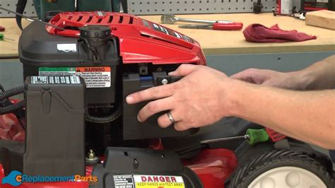 Push Mower Fuel Filter by How To Replace The Air Filter On A Troy Bilt Tb280es Lawn