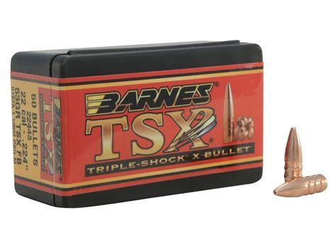 Barnes Triple-shock X (tsx) Bullets 22 Cal (224 Diameter