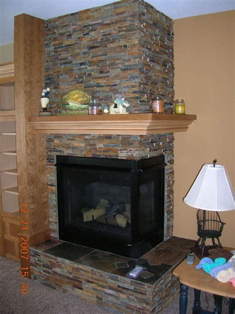 Corner Fireplace Mantels - magnificent corner fireplace mantels simple design