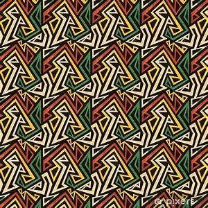 Tapete Geometrische Muster : tapete african geometrische nahtlose muster mit grunge effekt pixers wir leben um zu ver ndern ~ Frokenaadalensverden.com Haus und Dekorationen