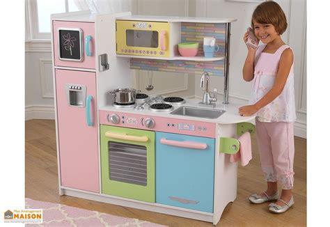 jeux de cuisine tout seul cuisine en bois pour enfants uptown pastel 1 m kidkraft