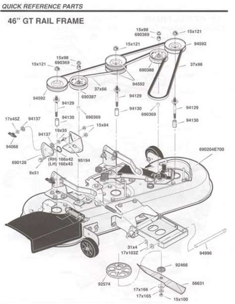 Murray Mower Deck Diagram by Murray Wiring Diagram Murray Get Free Image About Wiring