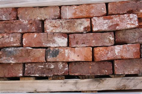 Red/Orange Hand Made Reclaimed Bricks   Rhyl   Cawarden