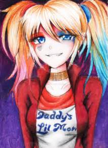 Anime Harley Quinn Suicide Squad