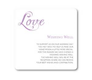 wedding invitation verses words gift registry or wishing well card fifyfofum designs