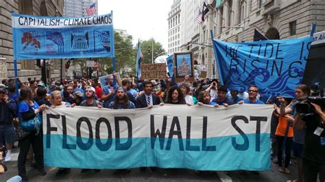 Mass Climate Protest Disrupts NYC Financial District ...