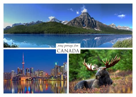 gruesse aus kanada urlaubsgruesse postkarten aus aller welt