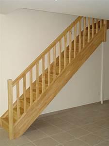 Escalier 1 4 Tournant Droit : escaliers magnin escalier 1 4 tournant haut vt avec contremarches ~ Dallasstarsshop.com Idées de Décoration