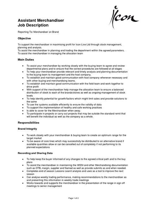 Merchandiser Resume  Resume Badak