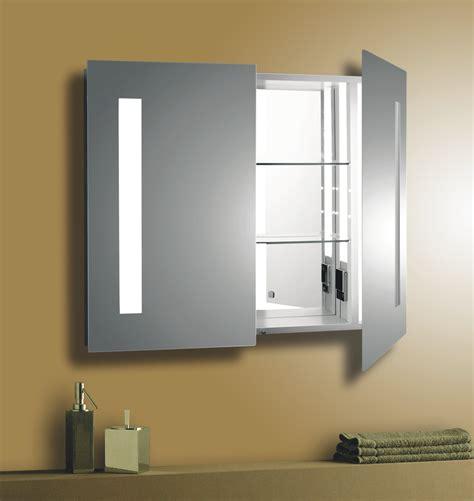 bathroom medicine cabinets with led lights cool oak medicine cabinet with mirror and lights and