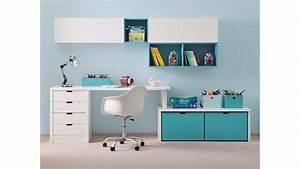 Bureau D Angle Enfant : bureau enfant avec meuble de rangement et niche d co asoral so nuit ~ Teatrodelosmanantiales.com Idées de Décoration