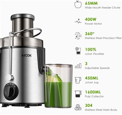 juicer under guide extractor centrifugal alcock juice
