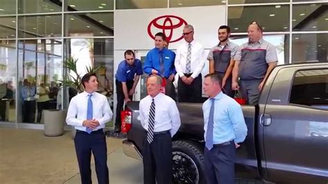 Big Two Toyota Scion Of Chandler by Big Two Toyota Takes The Als Challenge