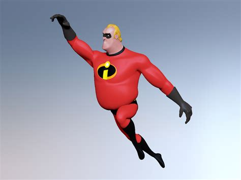 3d Passion Mr Incredible