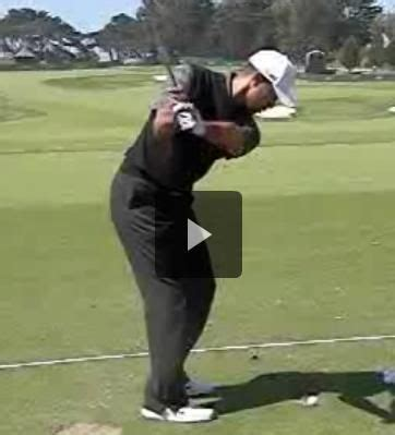 2012 Tiger Woods Slow Motion Iron Swing under Sean Foley's ...