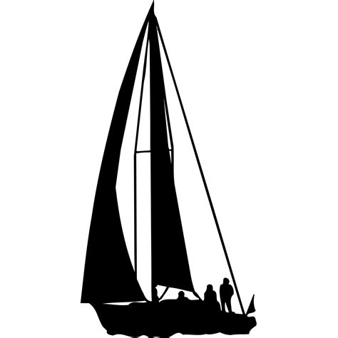 Sailing Boat Wall Stickers by Sailing Yatching Boat Nautical Wall Sticker World Of