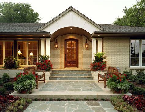 Ranch Home Exterior Elevation  Dallas Texas Residential