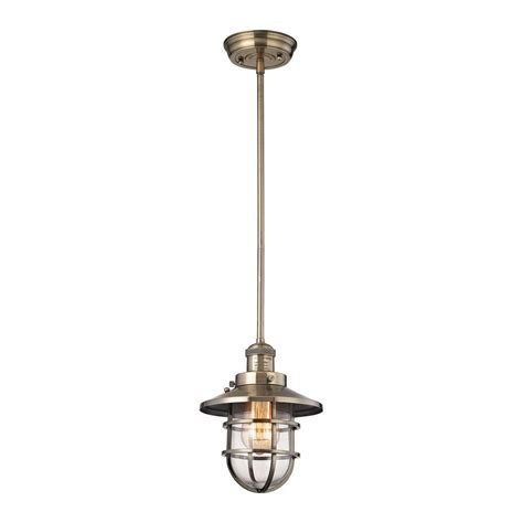 globe electric exclusive edison  light antique brass