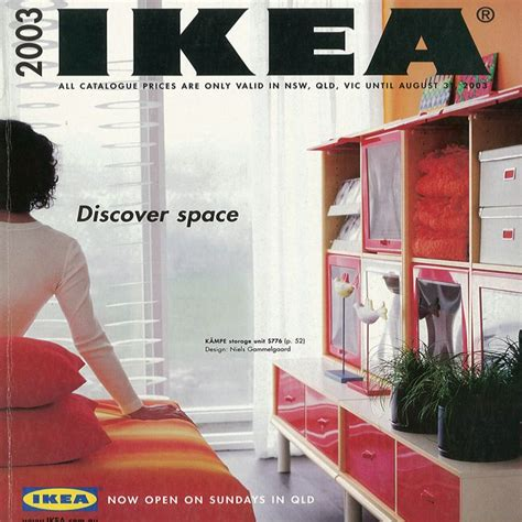 Small Space Living Inspiration Ikea by The 2003 Ikea Catalogue My Home Ideas And Inspiration