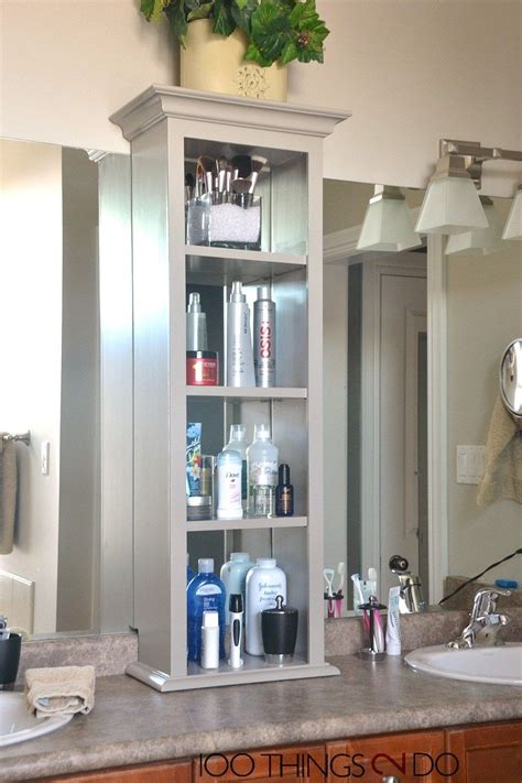bathroom vanity storage bathroom storage tower master