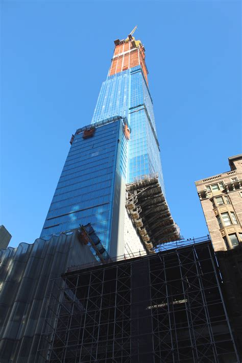 central park tower approaches  foot pinnacle nears