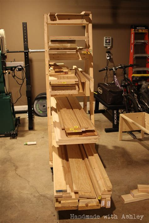 diy mobile lumber rack plans  rogue engineer