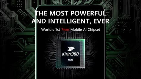 huawei unveils kirin  worlds  nm chipset