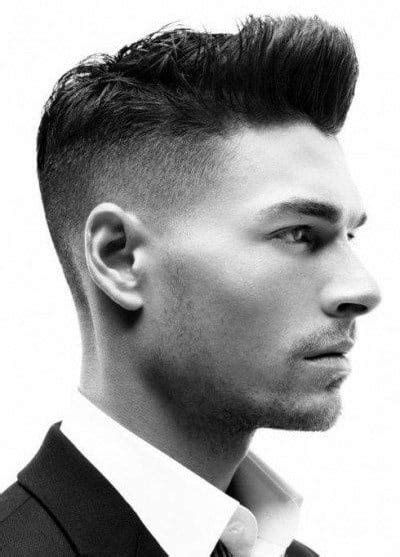 shaved sides hairstyles  men throwback haircuts