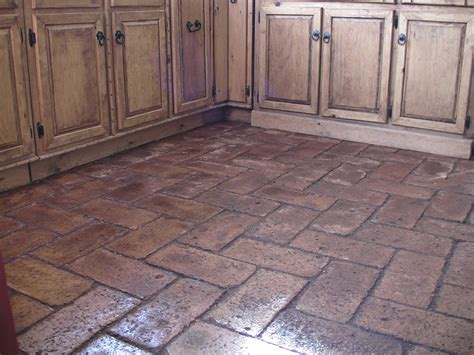 brick floors cheap and easy earth block floors make