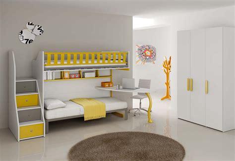 chambre enfant complète lits superposés compact