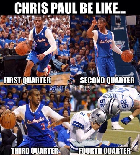 Chris Paul Memes - chris paul be like sports memes pinterest