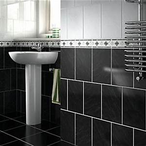 Border tiles border mosaic tiles wickescouk for Wickes bathroom border tiles