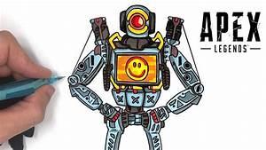 Tuto Apex Legends - Dessiner Pathfinder Facilement