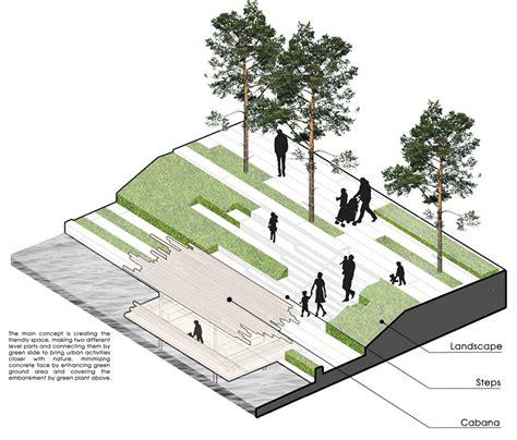landscape architecture concept mia design studio complete waterside park in vietnam studio landscaping and architecture