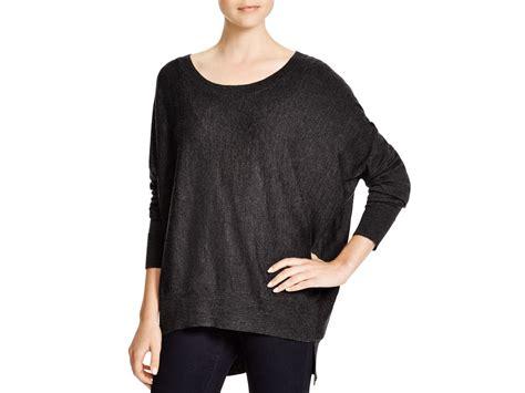 slouchy sweater lyst eileen fisher merino wool slouchy sweater in gray