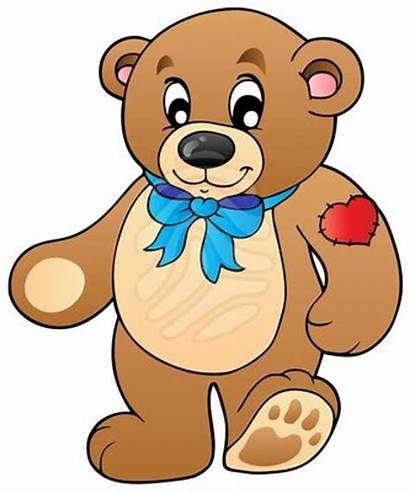 Bear Teddy Standing Clipart Illustration Vector Clip