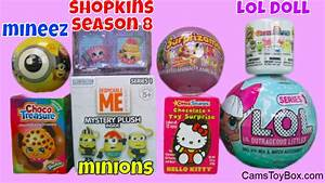 LOL Surprise Dolls Minions Mineez Season 8 Shopkins ...