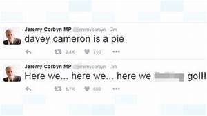 Foul-mouthed tweets posted on Jeremy Corbyn's account in ...
