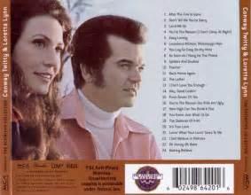 Conway Twitty & Loretta Lynn Album Covers