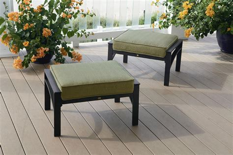 la z boy outdoor 2 pack ottomans limited