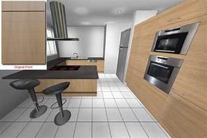Küche U Form Mit Theke : u k che e k cristini 2x eckschrank eiche hochschrank k chenzeile mit theke ebay ~ Indierocktalk.com Haus und Dekorationen