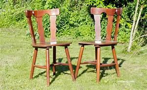 Relooker Des Chaises : relooker des chaises en bois ~ Melissatoandfro.com Idées de Décoration