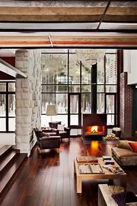 35 chalet living room designs digsdigs