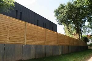 Palissade De Jardin : cloture et palissade de jardin en bois vannes ~ Melissatoandfro.com Idées de Décoration