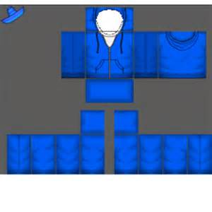 Blue Hoodie Roblox Shirt Template