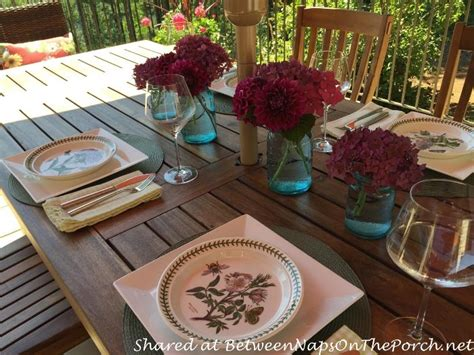 deck makeover  covered porch room  dining