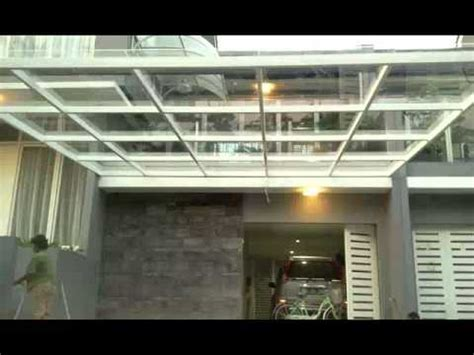desainmodel canopy minimalis mewah pilihan architect