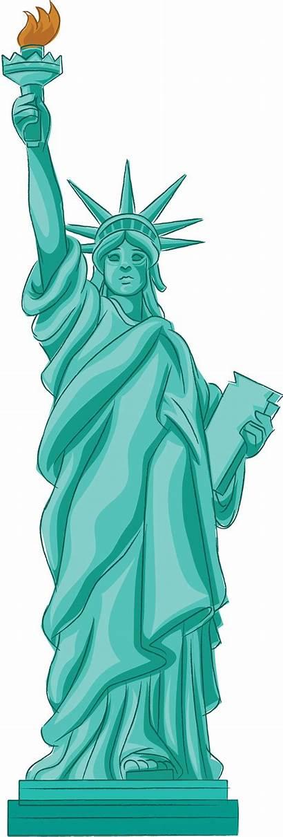 Liberty Statue Clipart Animated Vector Cliparts Clip